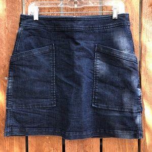 The Loft - Big Pocket - Jean Skort - Size 10